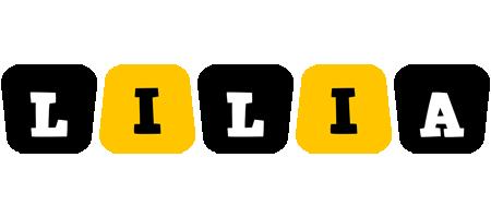 Lilia boots logo