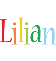 Lilian birthday logo