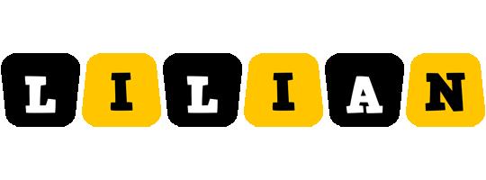 Lilian boots logo