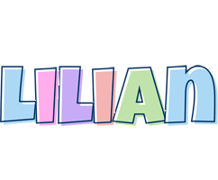 Lilian pastel logo