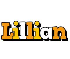 Lillian cartoon logo