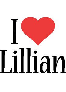 Lillian i-love logo