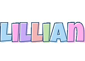 Lillian pastel logo