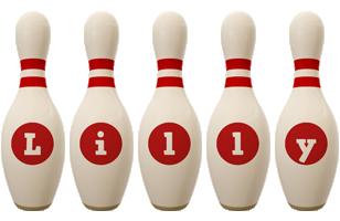Lilly bowling-pin logo