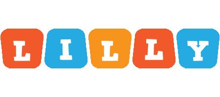 Lilly comics logo