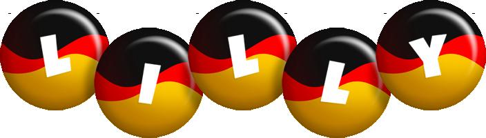 Lilly german logo