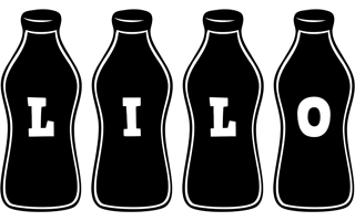 Lilo bottle logo