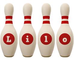 Lilo bowling-pin logo