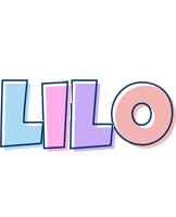 Lilo pastel logo