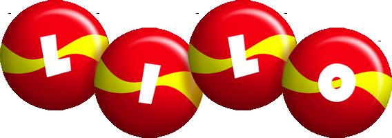 Lilo spain logo