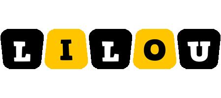 Lilou boots logo