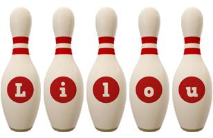 Lilou bowling-pin logo