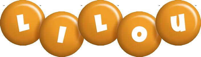 Lilou candy-orange logo