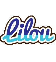 Lilou raining logo