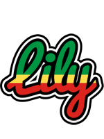 Lily african logo