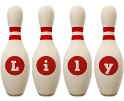 Lily bowling-pin logo