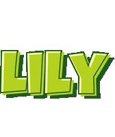 Lily summer logo