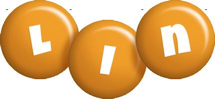 Lin candy-orange logo