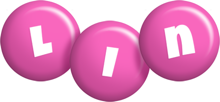 Lin candy-pink logo