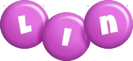 Lin candy-purple logo
