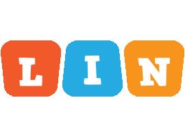 Lin comics logo