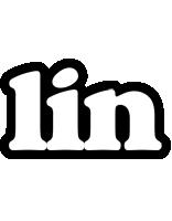 Lin panda logo