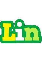 Lin soccer logo