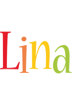 Lina birthday logo
