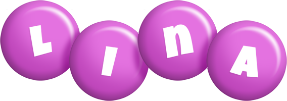 Lina candy-purple logo