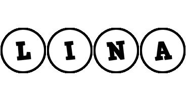 Lina handy logo
