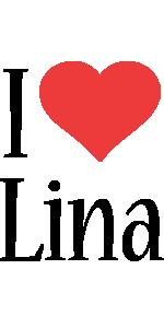 Lina i-love logo