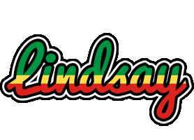 Lindsay african logo