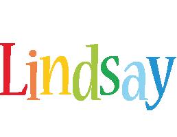 Lindsay birthday logo
