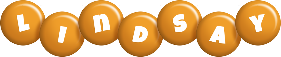 Lindsay candy-orange logo