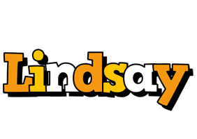 Lindsay cartoon logo
