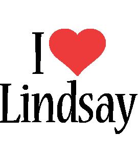 Lindsay i-love logo