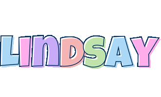 Lindsay pastel logo