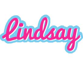 Lindsay popstar logo