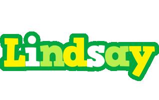 Lindsay soccer logo