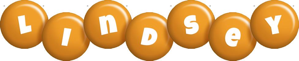 Lindsey candy-orange logo