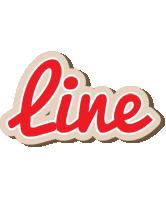 Line chocolate logo
