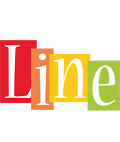 Line colors logo