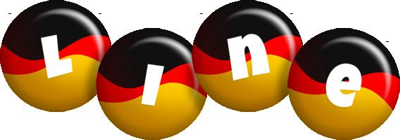 Line german logo