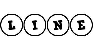 Line handy logo