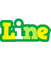 Line soccer logo