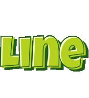 Line summer logo