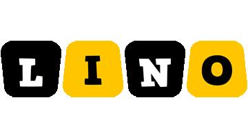 Lino boots logo