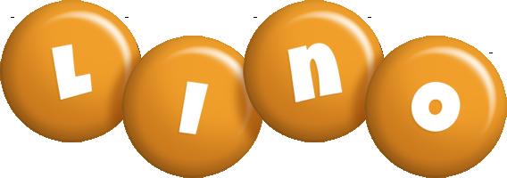 Lino candy-orange logo