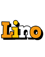 Lino cartoon logo