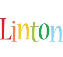 Linton birthday logo